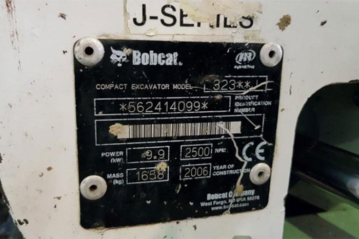 BOBCAT 323 5