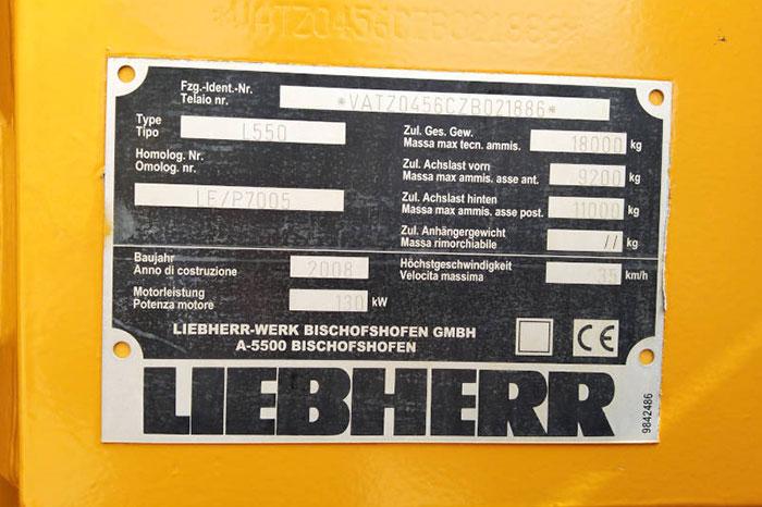 LIEBHERR L 550 5